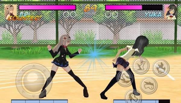 高中女生战斗模拟器截图3