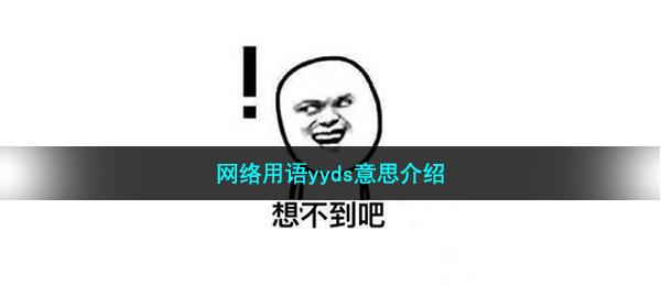 网络用语yyds什么意思-yyds梗来源出处介绍