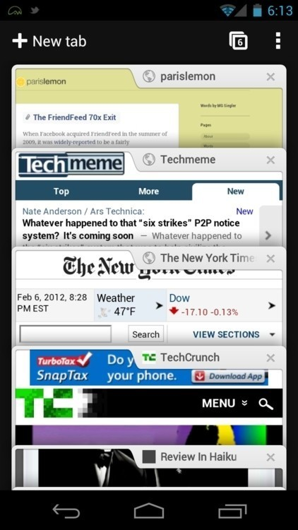 谷歌浏览器截图2