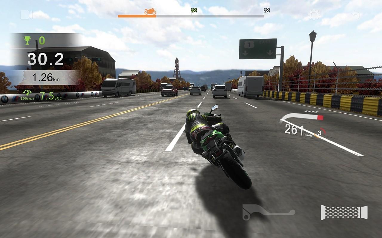 Real Moto Traffic截图1