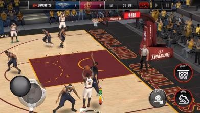 NBA LIVE Mobile Basketball截图2