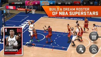 NBA LIVE Mobile Basketball截图3