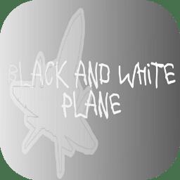 黑白纸飞机