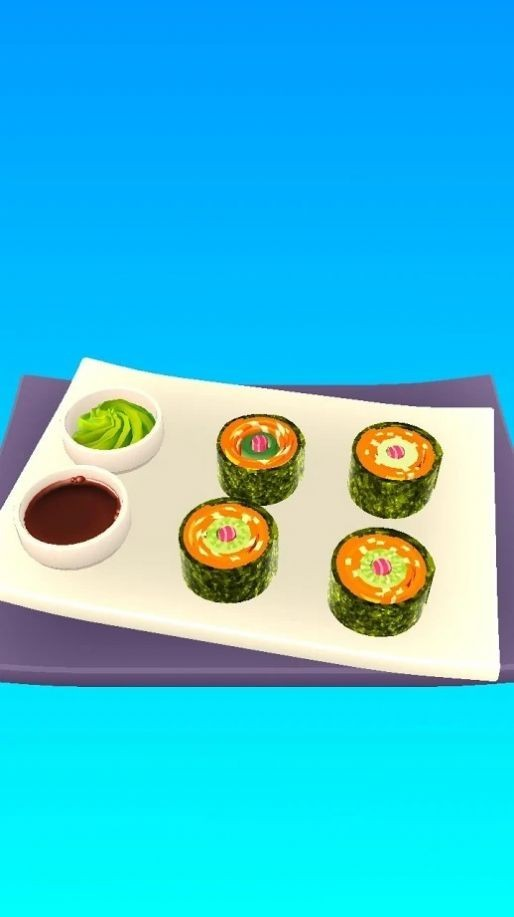 寿司卷3D截图3