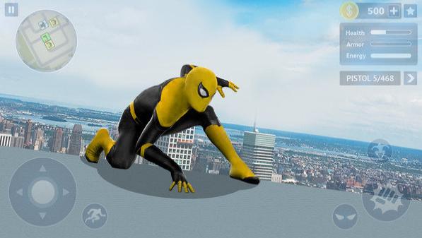 蜘蛛英雄开放之城截图3