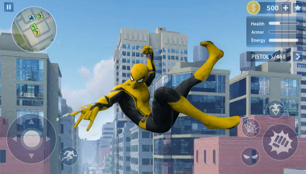 蜘蛛英雄开放之城截图1
