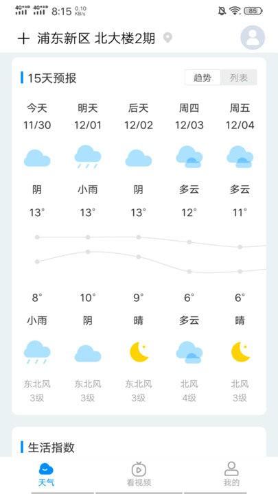 趣查天气截图2