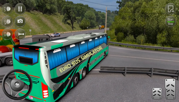 顶级公交车模拟截图1