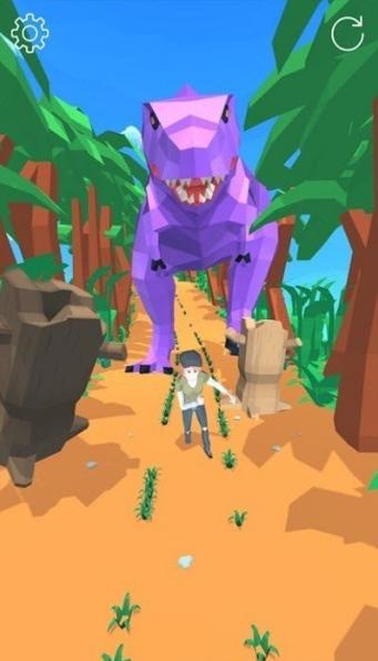 侏罗纪奔跑截图2