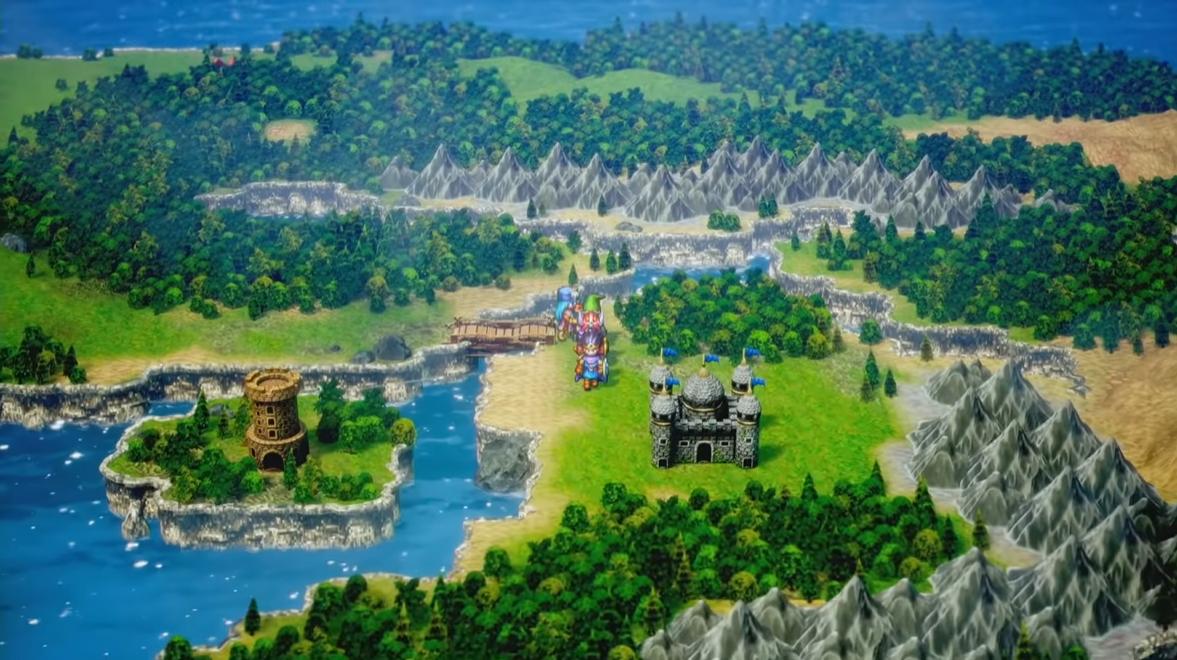 勇者斗恶龙3HD 2D版截图2