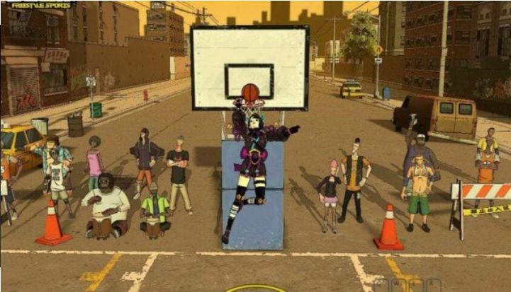 自由竞技篮球截图2